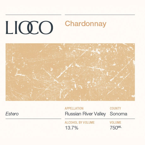 """LIOCO Chardonnay RRV `Estero"""" 2015 (750ML) zoom"""