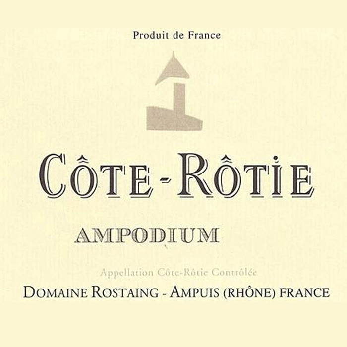 Cote Rotie Ampodium Rene Rostaing 2015 (750ML) zoom