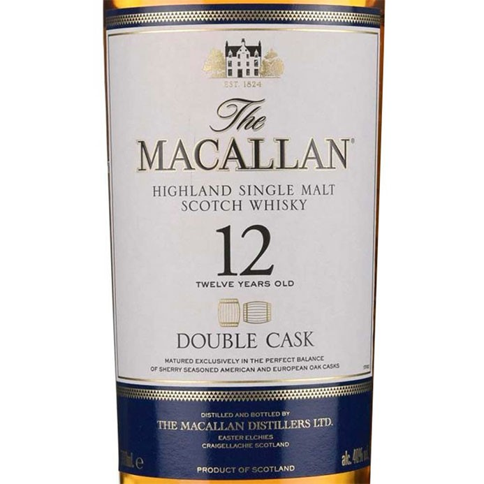 Macallan Double Cask 12 yr Single Malt Scotch (750ML) zoom