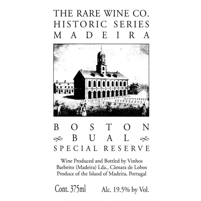 Madeira Boston Bual Special Reserve The Rare Wine Co. Historic Series (750ML)