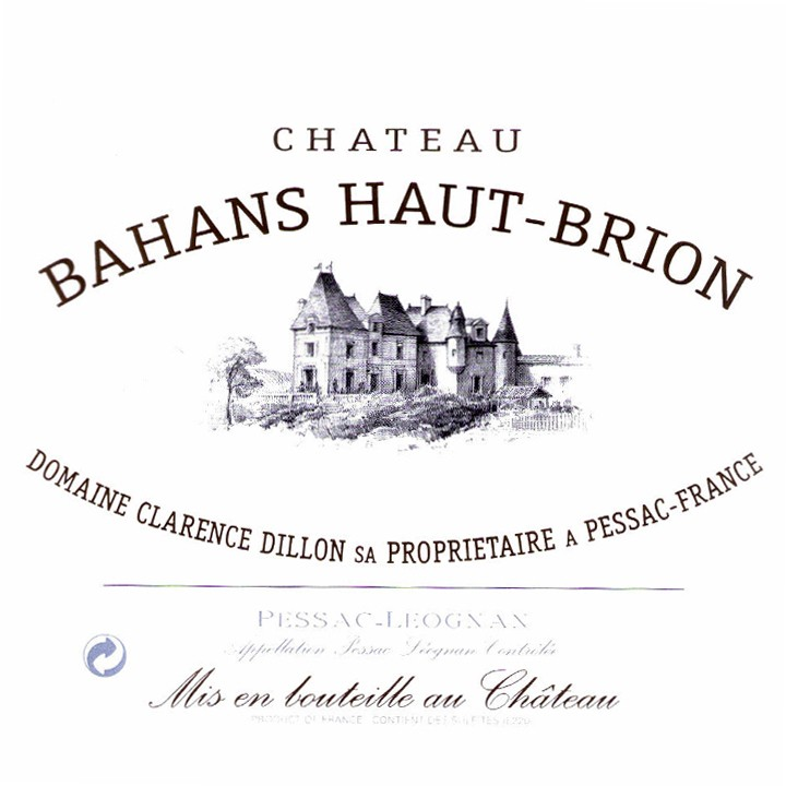 Bahans Haut Brion 1985 (750ML)