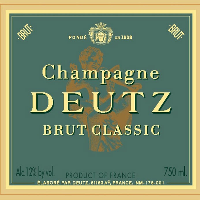 Deutz Classic Brut NV (750ML)