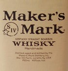Makers Mark Kentucky Straight Bourbon (750ML)
