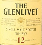 Glenlivet 12 Year Old Single Malt Scotch (750ML)