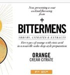 Orange Cream Citrate Bitters Bittermens (5oz)