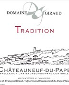 Chateauneuf du Pape Tradition Domaine Giraud 2012 (750ML)