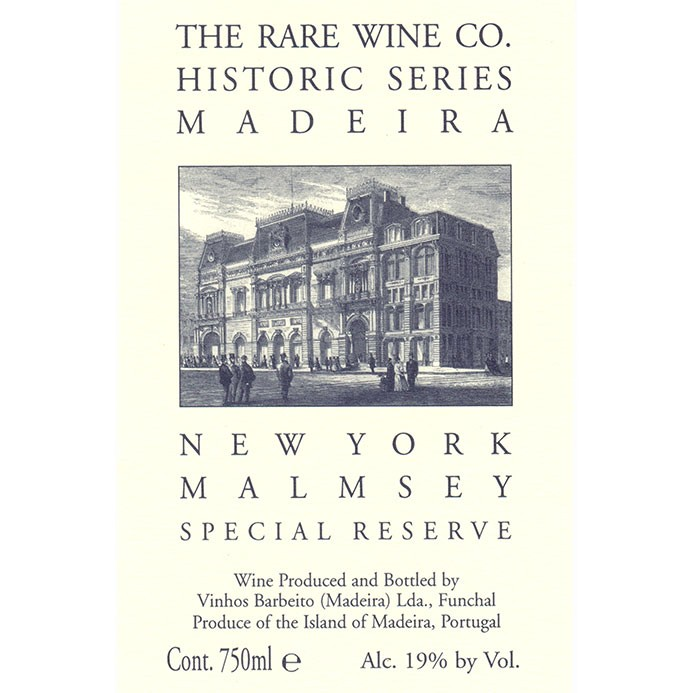 Madeira New York Malmsey Special Reserve The Rare Wine Co. Historic Series (750ML)