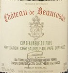 Chateauneuf du Pape Caisse Oenotheque Beaucastel (1998, 1999, 2008, 2009) (750ML)
