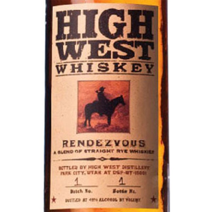 High West The Rendezvous Rye (750ML)