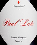 Paul Lato Cinematique Larner Vineyard Syrah 2013 (750ML)