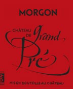 Morgon Chateau de Grand Pre 2015 (750ML)