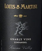 Louis Martini Gnarly Vines Zinfandel 2012 (750ML)
