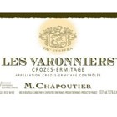 Crozes Ermitage Les Varonnieres Chapoutier 2014 (750ML)