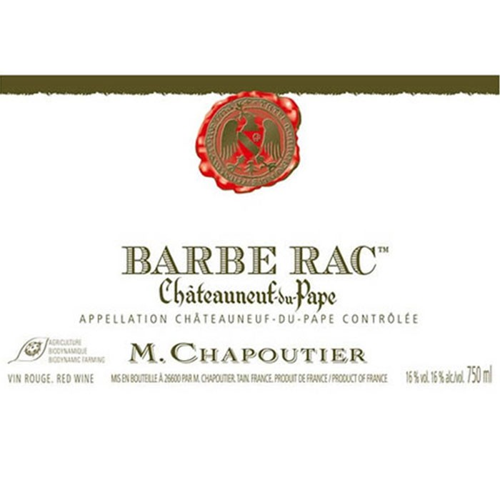 Chateauneuf du Pape Barbe Rac Chapoutier 2015 (750ML)