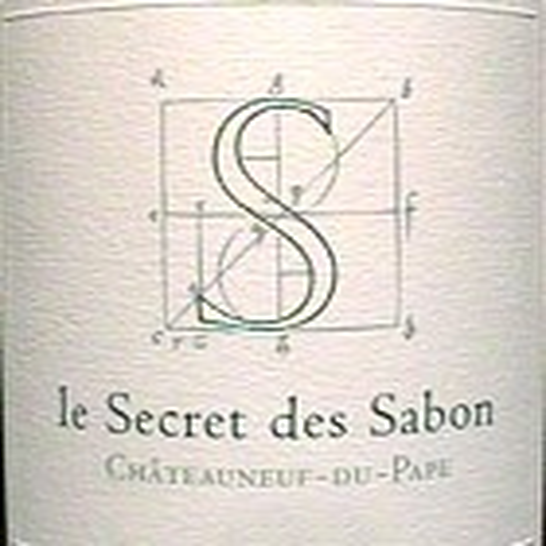 Chateauneuf du Pape Le Secret des Sabons Roger Sabon 2015 (750ML)