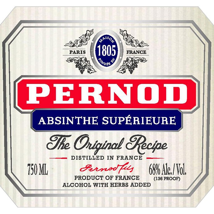 Pernod Absinthe Superieure (750ML)