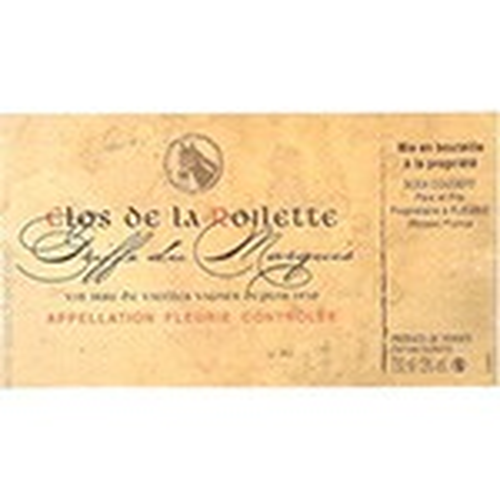 Fleurie Griffe du Marquis Clos de la Roilette 2015 (750ML)
