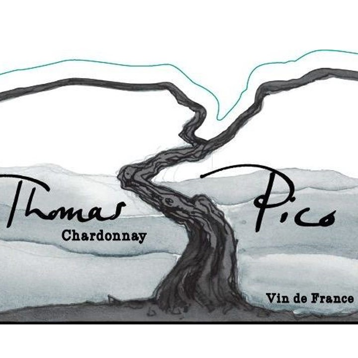 Thomas Pico Vin de France Chardonnay Pattes Loups NV [2016] (750ML)