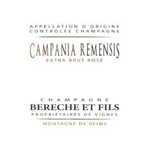 Bereche Campania Remensis Extra Brut Rose NV (750ML)