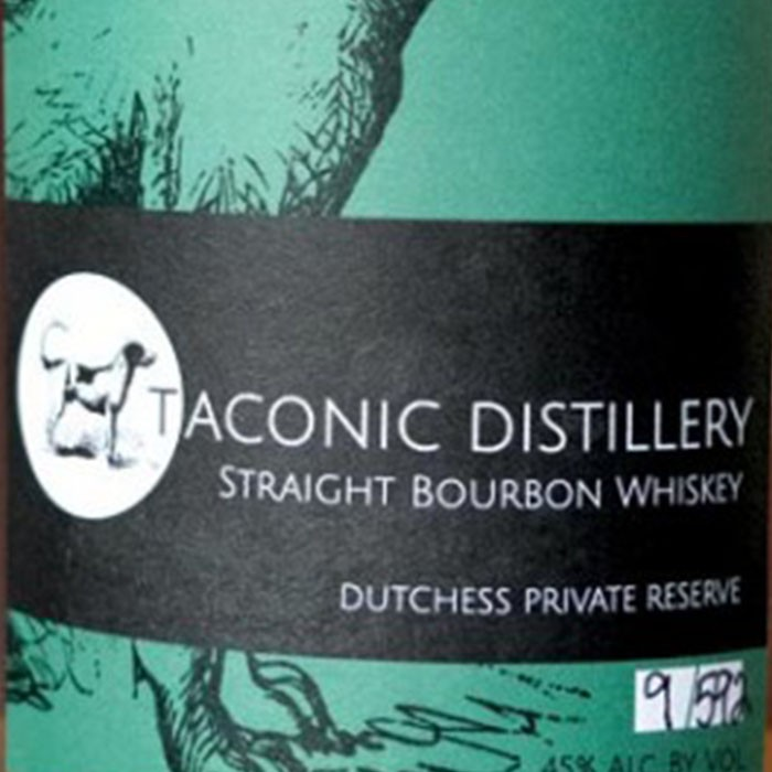 Taconic Distillery Dutchess Private Reserve Bourbon Whiskey (750ML)