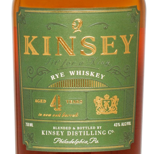 New Liberty Kinsey Rye Whiskey (750ML)