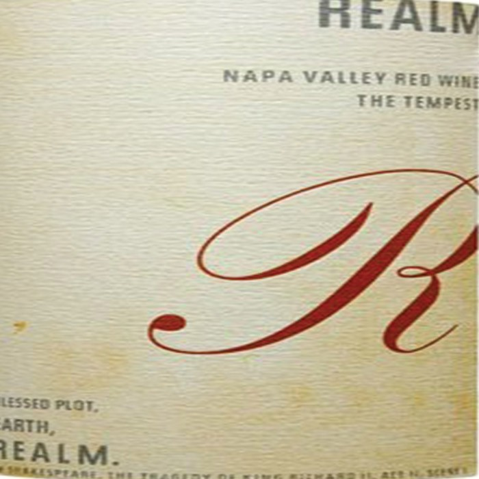Realm The Tempest Napa Valley Red 2015 (750ML)