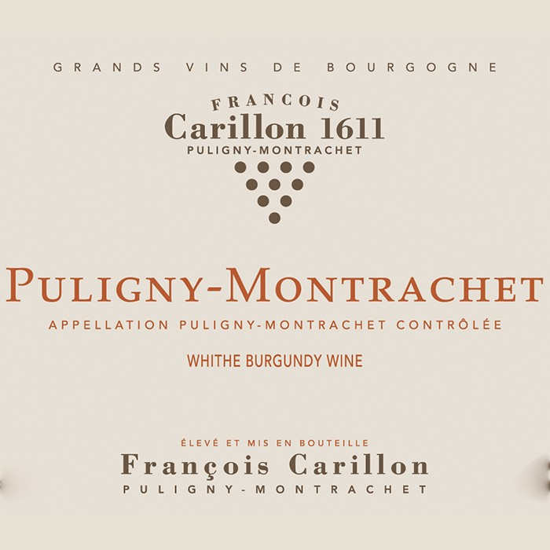Puligny Montrachet Champs Gain Francois Carillon 2016 (750ML)