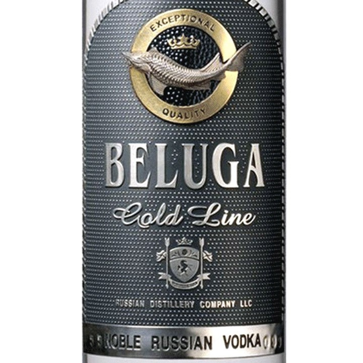 Beluga Vodka Gold Russian (750ML)