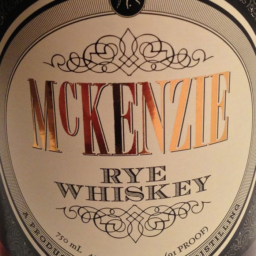 McKenzie Straight Rye Whiskey (750ML)