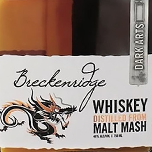 Breckenridge Dark Arts Malt Mash Whiskey (750ML)