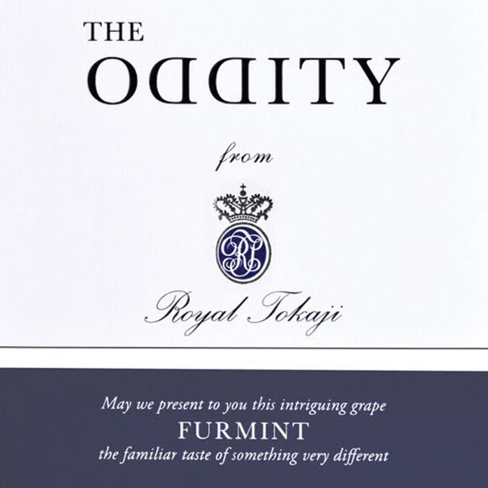 The Oddity Furmint Royal Tokaji 2015 (750ML)