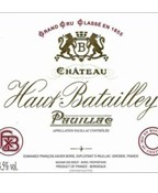 Haut Batailley 2017 (750ML)