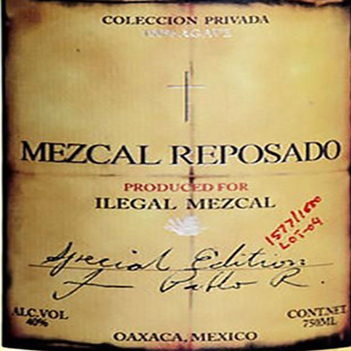 Ilegal Reposado Mezcal  (750ML)