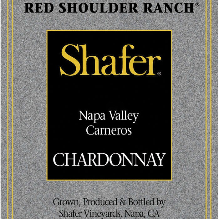 Shafer Vineyards Red Shoulder Ranch Chardonnay 2015 (750ML)