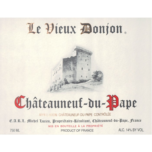 Chateauneuf du Pape Le Vieux Donjon 2016 (750ML)