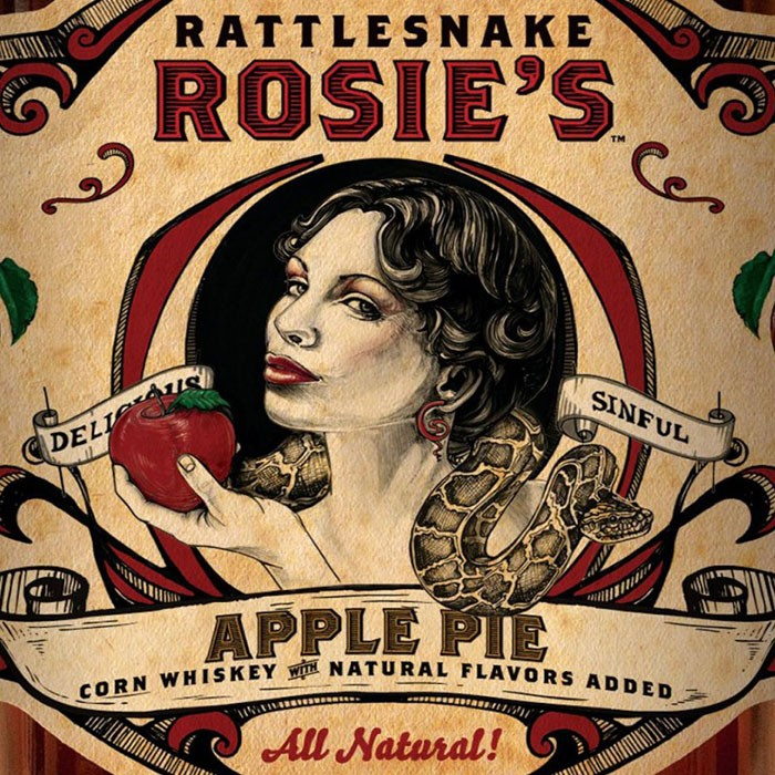 Rattlesnake Rosies Apple Pie Whisky (1L)