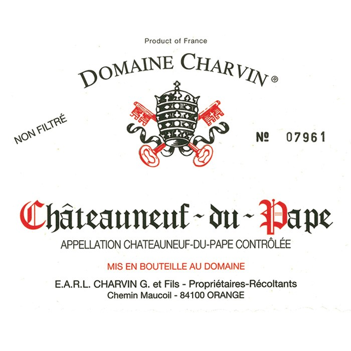 Chateauneuf du Pape Charvin 2016 (750ML)