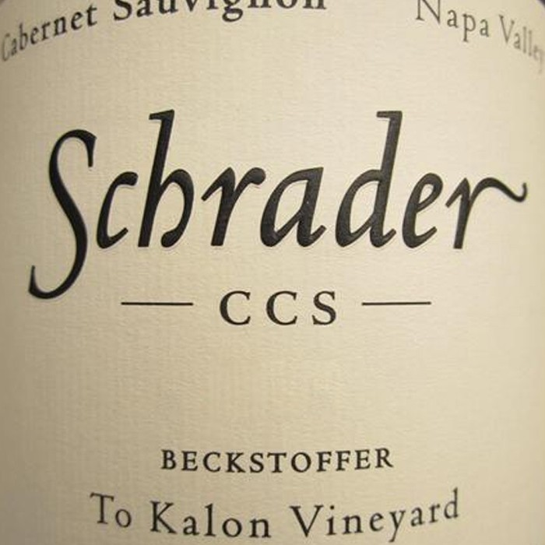 Schrader CCS Beckstoffer To Kalon Vineyard Cabernet Sauvignon 2016 (750ML)