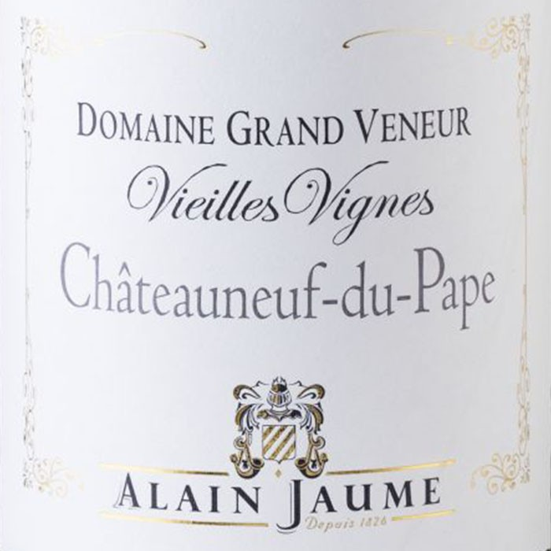 Chateauneuf du Pape Vieilles Vignes Grand Veneur 2016 (750ML)