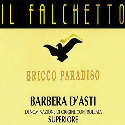 Barbera D`Alba Superiore Bricco Paradiso Il Falchetto 2016 (750ML)