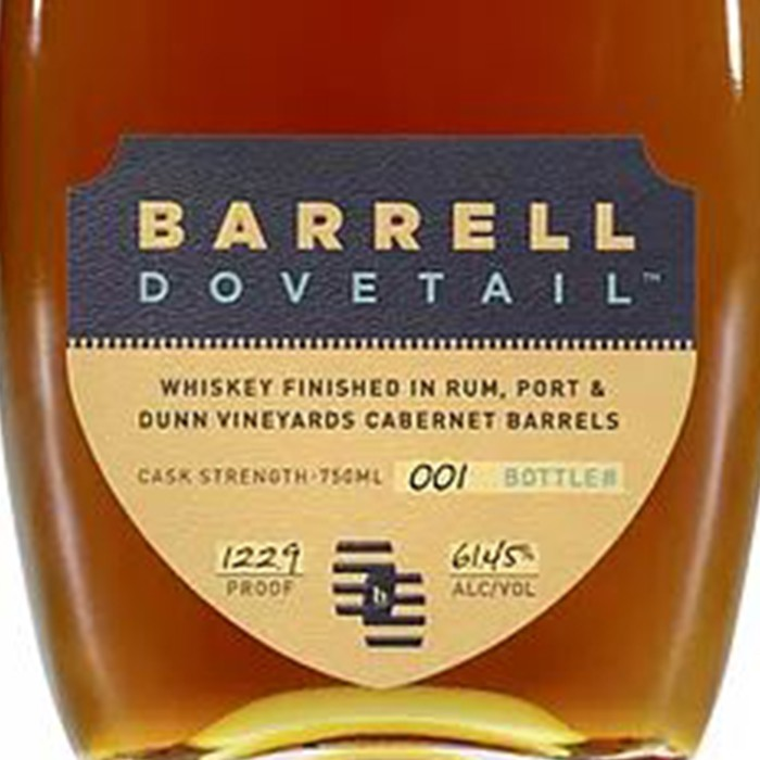 Barrell Dovetail Whisky 122.9 Proof (750ML)