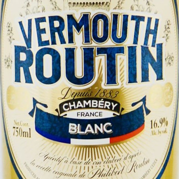 Distillerie des Alpes Routin Blanc Vermouth (750ML)