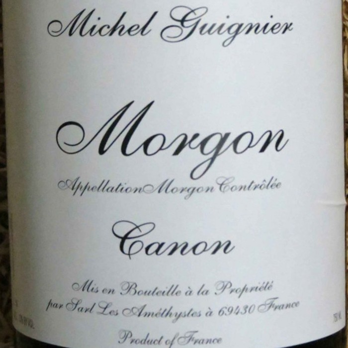 Morgon Canon Michel Guignier 2017 (750ML)