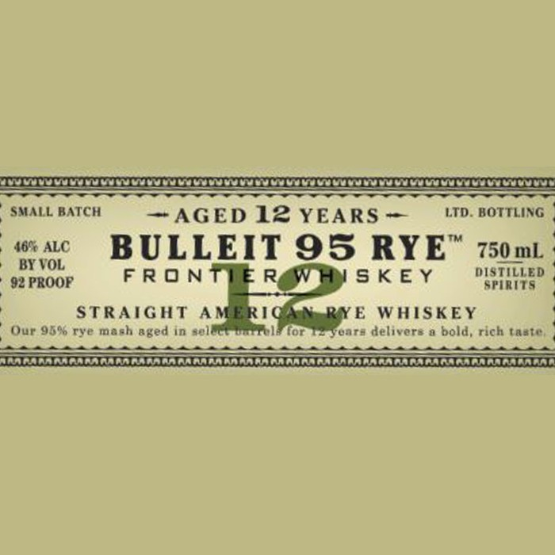 Bulleit 12yr Rye (750ML)