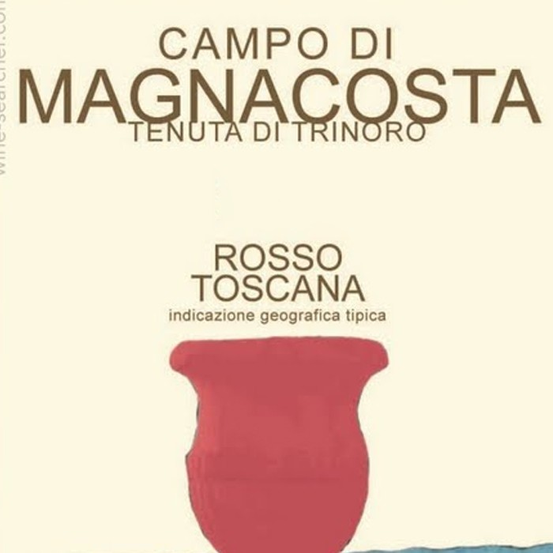 Rosso Toscana IGT Campo di Magnacosta Tenuta di Trinoro 2016 (750ML)