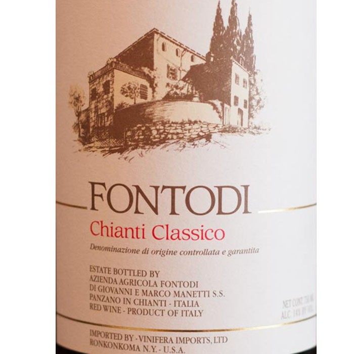 Chianti Classico Fontodi 2016 (375ML)