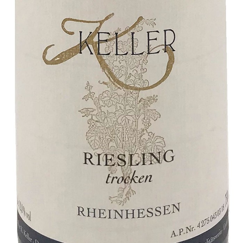 Riesling Trocken Keller 2018 (750ML)