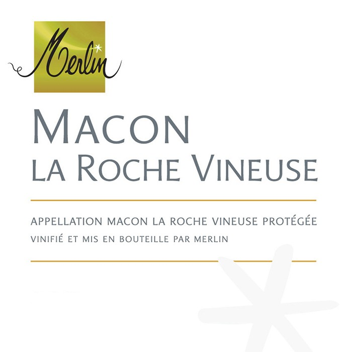 Macon La Roche Vineuse Blanc Merlin 2017 (750ML)