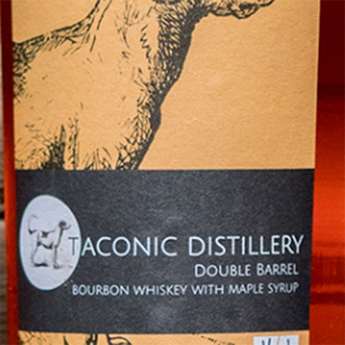 Taconic Distillery Double Maple Barrel Bourbon Whiskey (750ML)