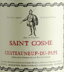 Chateauneuf Du Pape St. Cosme 2016 (750ML)
